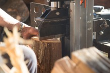 Splitting wood part 1