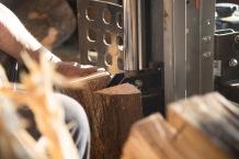 Splitting wood part 2.