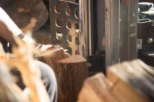 Splitting wood part 3.