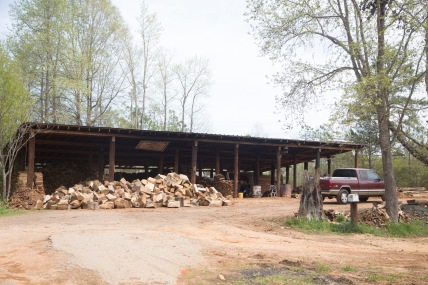 Kinard Firewood sits on the top of what is known to locals as Kinard Hill located off of 76 in Little Mountain, SC.